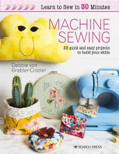 Learn to Sewin 30 mins Paperback Sewing Book with Pattern Sheet
